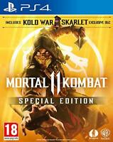 Mortal Kombat 11 Special Edition PS4 , Playstation 4 , Console Video Game MK11