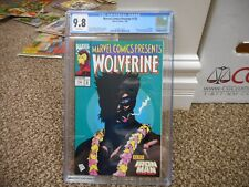Marvel Comics Presents 132 cgc 9.8 CLASSIC WOLVERINE cover MINT WHITE pgs X-Men