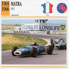 1965-1966 MATRA MS5 Racing Classic Car Photo/Info Maxi Card
