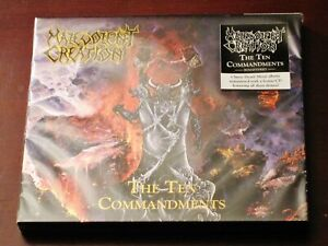 Malevolent Creation: The Ten Commandments + Demos 2 CD Set 2018 Hammerheart NEW