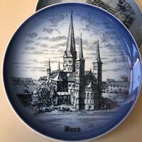 BONN Münsterkirche Germany Bing&Grondahl B&G Copenhagen Porcelain Christmas Gift