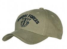 Us Army Special Forces insignia Baseball Cap verde oliva seals Navy marines USMC wk2