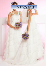 Hochzeitskleid, Brautkleid, APART, creme. K-Gr. 19(38)NEU!!! KP 319,- SALE%%%