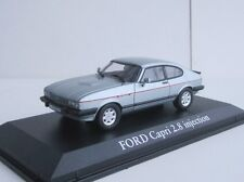 Ford Capri II 2.8 Injection 1984 1/43 Norev ARCTIC BLUE 2 270561