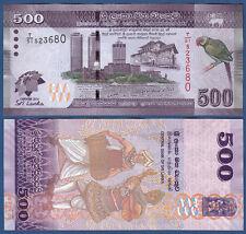 SRI LANKA  500 Rupees 2013 COMMEMORATIVE UNC  P.NEW