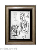 """P. PICASSO Lithograph """"25.7.40b"""" Justification Limited Edition +++Custom FRAMING"""