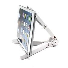 White Foldable Desktop Stand Bracket Holder for Cell Phone Tablet i Pad Mini HTC