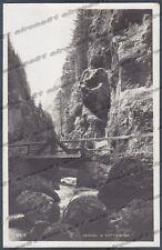 BELLUNO ROCCA PIETORE 06 SERRAI DI SOTTOGUDA - PONTE Cartolina FOTOGRAFICA