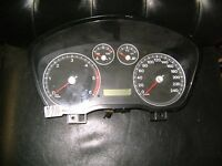 kombiinstrument tacho ford focus 4m5t10849gn tachometer cockpit  diesel