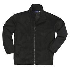 Portwest Buildtex Laminated Fleece Jacket - F330 - Size S - Black - Showerproof