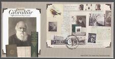 Gibraltar 2009 FDC MS Birth Bicentenary Of Charles Darwin