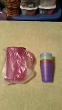 Tupperware Kids Mini Pitcher With Glasses Mint In Plastic.