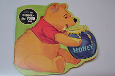 1964 Golden Shape Book--Winnie the Pooh Excellent Condition