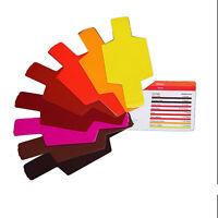 20pcs Flash Speedlite Color Gels Filters for Canon Nikon Sony Godox Yongnuo TSUS