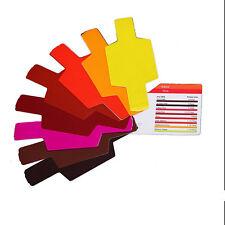 20pcs 20 Colors Flash/Speedlite/Speedligh t Color Gels Filter Kit Best Accessery
