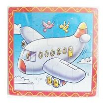 BRAND NEW WOODEN PLANE 16PC PUZZLE-GR8 GIFT IDEA