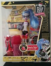 MONSTER HIGH Ghoulia Yelps Physical Deaducation Daughter of the Zombies New!