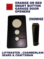 Craftsman Garage Door Opener Comp Visor Remote Control  For Red Smart Button