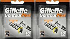 Gillette Contour Plus. 20 Lamette. Prodotto Nuovo, Sigillato, Originale.