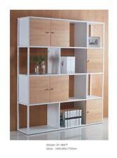 8 Cube Wooden Bookcase Shelving Unit Display Storage Shelf Home Office Light Oak