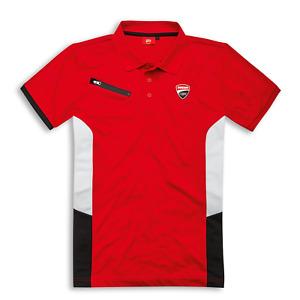 Icon Genuine Ducati Scrambler Born Free Men/'s Polo Shirt Classic 98770064