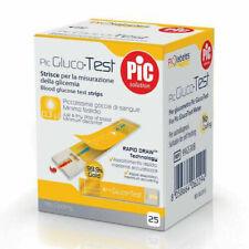 PIC Gluco Test 25 Strisce Monitoraggio Glicemia