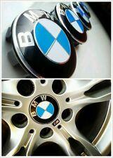 4 Logo BMW Cache Moyeu Jante Centre De Roue 68mm Insigne Emblème