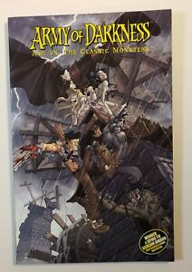 Army Of Darkness:  Ash VS. The Classic Monsters TPB Soft Cover First Print FN/VF