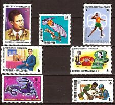 MALDIVES timbres neufs ,usages courants, sujets divers   E127