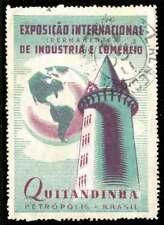 Brazil Poster Stamp - 1948 Petrópolis - Industry & Trade Expo - Quitandinha