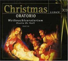 BACH  Christmas Oratorio WEIHNACHTSORATORIUM  3CD-BOX OVP