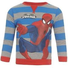 Marvel Boys' 100% Cotton Jumpers & Cardigans 2-16 Years