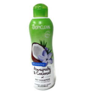 Tropiclean - Pet Shampoo - Whitening - Awapuhi & Coconut