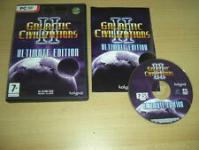 Galactic Civilizations II Ultimate Edition de Base Game + 2 Addons PC civilisations