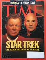 WILLIAM SHATNER & PATRICK STEWART 'STAR TREK' November 28, 1994 TIME Magazine