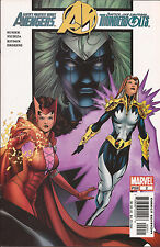 Avengers/Thunderbolts #2 Marvel Scarlet Witch Captain America Hawkeye Fixer VF+