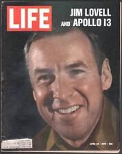 LIFE MAGAZINE APRIL 24, 1970 JIM LOVELL APOLLO 13 LBJ BEATLES SPLIT HITLER NR