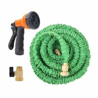 Super Strong 25 50 75 100 Feet Expandable Flexible Garden Water Hose with Nozzle