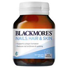 Blackmores Nails, Hair & Skin 120 Tablets Collagen Formation Silica Biotin Zinc