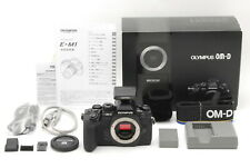 【Mint in Box】Olympus OM-D E-M1 16.3MP DSLR Black Body Only From Japan #580