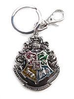 Harry Potter Hogwarts Crest Pewter Keychain