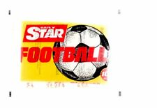 Unopened Packet -  Daily Star Footballer 1981