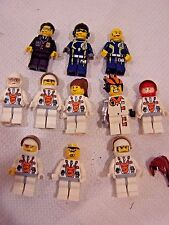 Mars MIssion Astronaut LEGO Minifigure Lot Space 5616 7699 7695 minifigs police