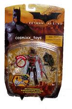 Batman Begins Movie Bloody Variant Scarecrow Action Figure Mattel