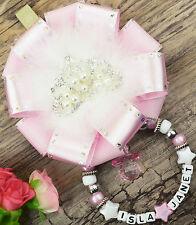 PERSONALIZZATO BELLISSIMO Carrozzina FASCINO IN pearl rosa per bebè ragazzi