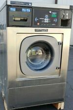 Continental Girbau Front Load Washer Coin Op 20Lb, 120V 60Hz 1Ph, S/N:1432488A08