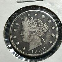 1888 LIBERTY NICKEL IN HIGHER GRADE BETTER DATE COIN