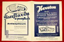 I. G. FARBENINDUSTRIE AKTIENGESSELSCHAFT -''REMEDIA'' WARSZAWA - ''Bayer''...