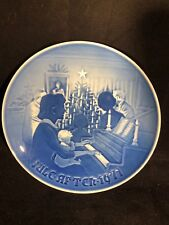 1971 Bing & Grondahl Christmas at Home Collectors Plate Made in Denmark