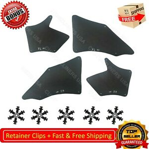 For Toyota Tacoma 05-20 Fender Liner Mud Flaps Splash Guards Shield Apron Seal